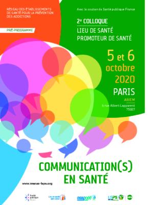Programme colloque LSPS 2020